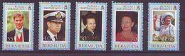 Bermuda - 2000 Royal Birthdays - 5 V Mint ** - Bermudas