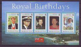 Bermuda - 2000 Royal Birthdays - Minisheet Mint ** - Bermudas