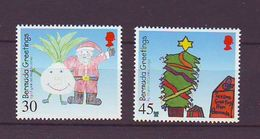 Bermuda - 2000 Christmas - Children's Paintings - 2 V Mint ** - Bermudas