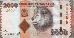 Tanzania , 2000 Shilingi , Used - Tanzania