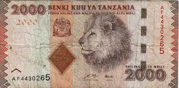 Tanzania , 2000 Shilingi , Used - Tanzanie