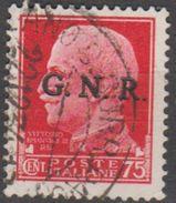 Italie République Sociale 1944 N° 478 Surchargé GNR (E1) - 1944-45 République Sociale
