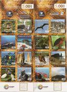 ECUADOR, 2013, Booklet 36/37, Galapagos Booklets, Reprints .. - Ecuador