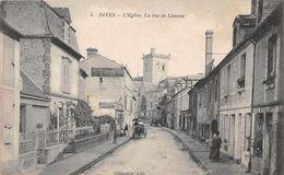 DIVES - L'Eglise, La Rue De Lisieux - Dives