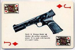 Play Card - Guns, Weapons, Armes - Smith & Wesson Model 46 - Cartes à Jouer Classiques