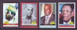 Antigua & Barbuda - 2008 National Heroes  - 4 V - Mint ** - Antigua Y Barbuda (1981-...)
