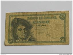 5 Cinco Pesetas 1948  Banco De Espana **** EN ACHAT IMMEDIAT **** - [ 3] 1936-1975 : Régence De Franco