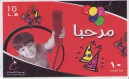 TARJETA TELEFONICA DE EGIPTO (PREPAGO) (362) - Egipto