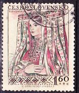 Tschechoslowakei CSSR - Tracht Novohrad (Slowakei) (MiNr. 997) 1956 - Gest Used Obl - Czechoslovakia