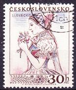 Tschechoslowakei CSSR - Tracht Mährische Slowakei (MiNr. 994) 1956 - Gest Used Obl - Oblitérés