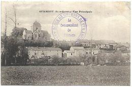 CP 735  CPA De Gudmont (52) Vue Principale - Frankrijk