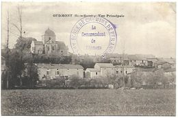 CP 735  CPA De Gudmont (52) Vue Principale - France