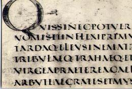Biblioteca Vaticana - Serie C. Scritt. Latine N.4 - Virgilio Georgiche - Scrittura Capitale Quadrata - Sec. IV Prov.Ital - Vatican