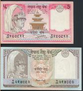 °°° NEPAL - 5 10 RUPEES °°° - Nepal