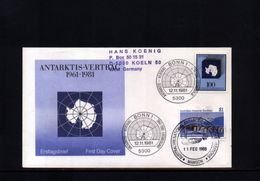 Australian Antarctic Territory 1988 Mawson Station Interesting Letter - Lettres & Documents