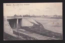 Mantova - Panorama E Nuovo Cavalcavia - Con Ferrovia - Mantova