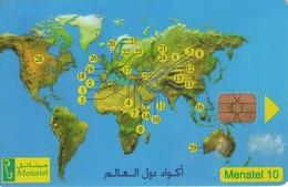 TARJETA TELEFONICA DE EGIPTO (CHIP) (456) - Egypt