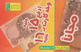 TARJETA TELEFONICA DE EGIPTO (CHIP) (489) - Egipto