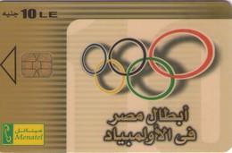 TARJETA TELEFONICA DE EGIPTO (CHIP) (492) - Egipto