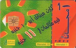 TARJETA TELEFONICA DE EGIPTO (CHIP) (471) - Egypt