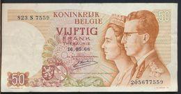 °°° BELGIUM - 50 FRANCS 1966 °°° - [ 2] 1831-... : Reino De Bélgica