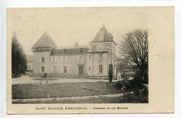 Saint Sulpice D'Excideuil Château De La Rivière - Other Municipalities