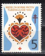 Yugoslavia,TBC 1965.,MNH - Unused Stamps