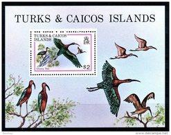 Turks And Caicos Islands, 1980, Birds, Animals, MNH, Michel Block 21 - Turks & Caicos (I. Turques Et Caïques)