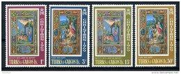 Turks And Caicos Islands, 1969, Christmas, Religion, MNH, Michel 238-241 - Turks & Caicos (I. Turques Et Caïques)