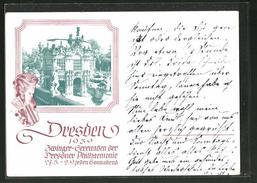 AK Dresden, Zwinger-Serenaden Der Philharmonie 1939 - Dresden