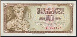 °°° JUGOSLAVIA - 10 DINARI 1968 UNC °°° - Jugoslavia