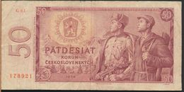 °°° CZECH REPUBLIC - 50 KORUN 1964 °°° - Cecoslovacchia