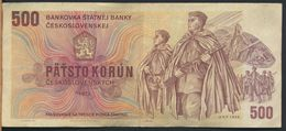°°° CZECH REPUBLIC - 500 KORUN 1973 °°° - Cecoslovacchia