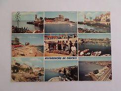 LINHA DE CASCAIS  1960years POSTCARD STAMP PORTUGAL Z1 - Postcards