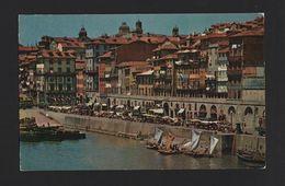 PORTO OPORTO 1950years DOURO RIVER Boats CAIS DA RIBEIRA Postcard Z1 - Postcards
