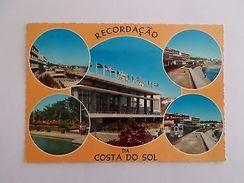 ESTORIL COSTA DO SOL LINHA DE CASCAIS  1960years POSTCARD PORTUGAL Z1 - Postcards