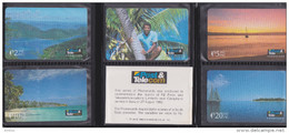 Fiji - 1992 First Issue Set (5) - FIJ-001/5 - Mint In Folder - Fiji