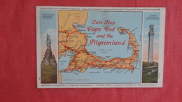 - Massachusetts > Cape Cod Auto Map Cape Cod & The Pilgrim Land    Ref 2719 - Cape Cod
