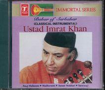 Cd  Musique Indienne  Bahar Of Surbahar Ustad Imrat Khan Classical Instrumental - Wereldmuziek
