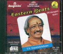 Cd  Musique Indienne  Eastern Beats Mridangam Solo Tv Gopalakrishnan - Wereldmuziek