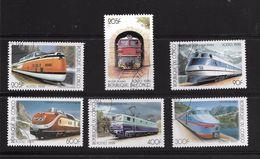 CONGO 1999 TRAINS  YVERT N°   OBLITERES/CTO - Trains