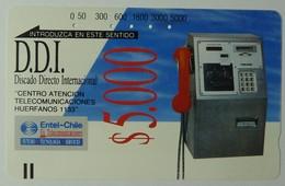 CHILE - Tamura - D1 - 1989  - $5.000 - Used - RRR - Chile
