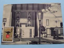 TALBOT House POPERINGE Binnenzicht Van De Kapel ( Zegel Vooraan 1965 / Zie Foto ) ! - Poperinge