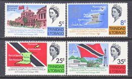 TRINIDAD  &  TOBAGO  119-22   *   ROYAL  VISIT  FLAGS - Trinidad & Tobago (1962-...)