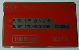 BRUNEI - L&G - Landis & Gyr - Test 30 - 10ex - Mint - RRR - Brunei