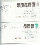 2 L  Avec LUQUET = 0.50francs...pour Faire 0.50euros.........en 2003 ..........à Voir - 1997-04 Marianne Of July 14th