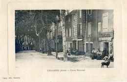 11 - Chalabre - Cours National - Marchand De Carte Postales : Fourcassa - France