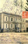47 - Mezin - Maison De A. Faillières , Président République - Carte Legerement Colorisée - France