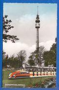 Deutschland; Dortmund; Bundesgartenschau 1959; Kleinbus Und Fernmeldeturm - Dortmund