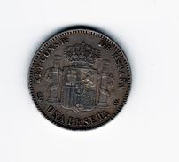 1 Peseta 1899 SGV (99) TTB+ - [ 1] …-1931 : Reino